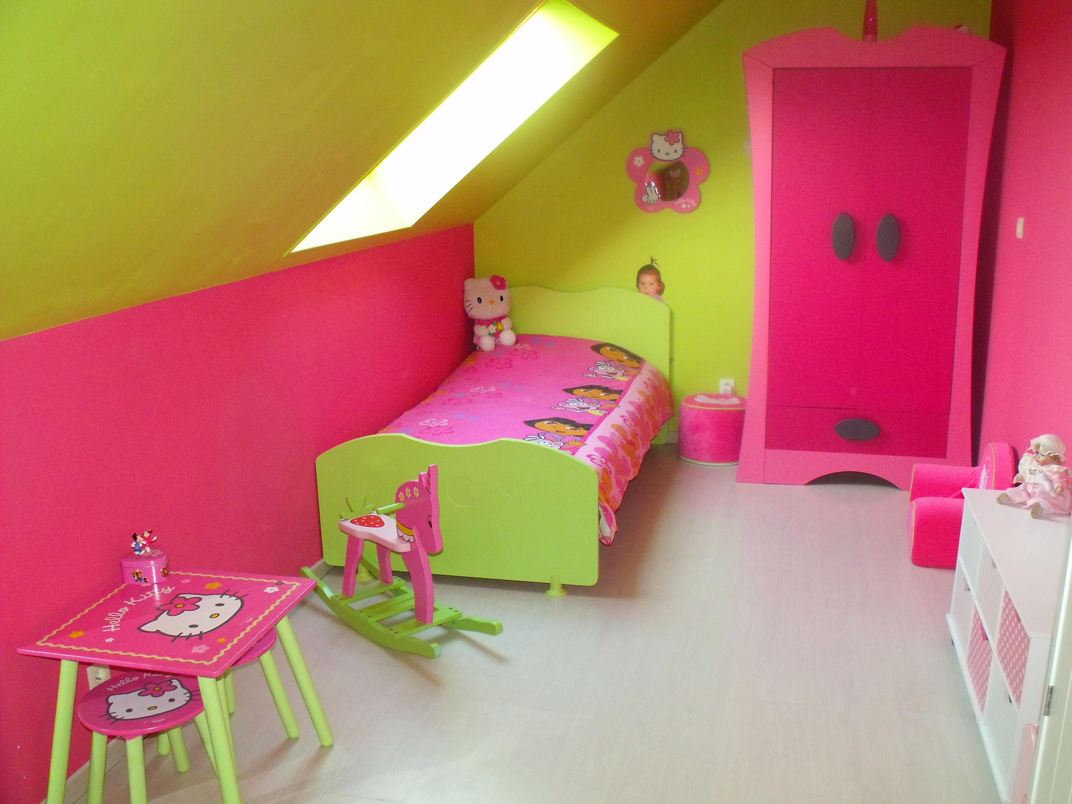 chambre fille 4 ans