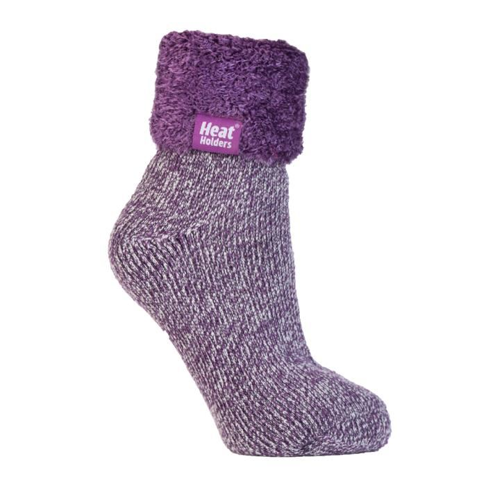 chaussettes antidérapantes femme