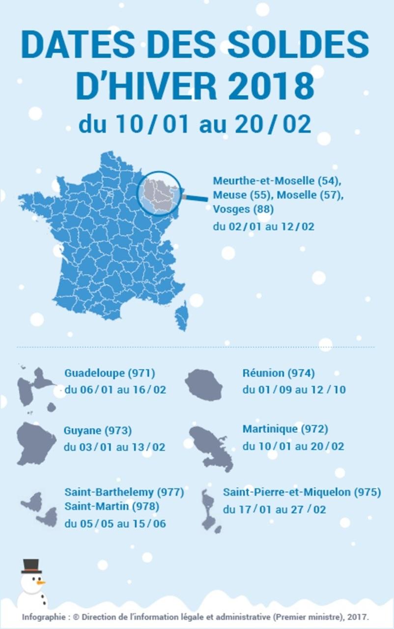 dates soldes hiver