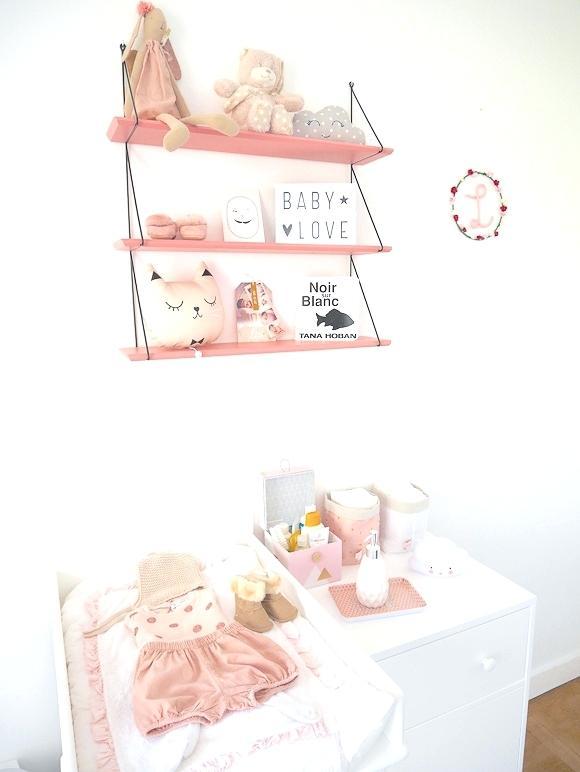 étagère chambre bébé