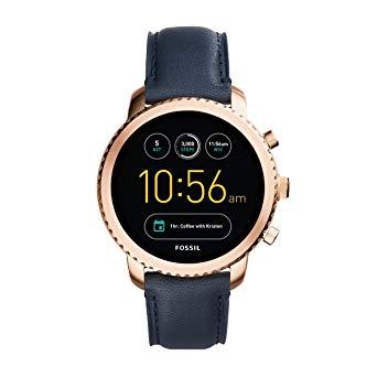 fossil montre connectée