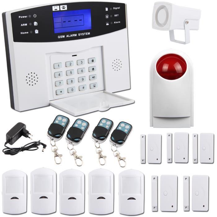 kit alarme maison