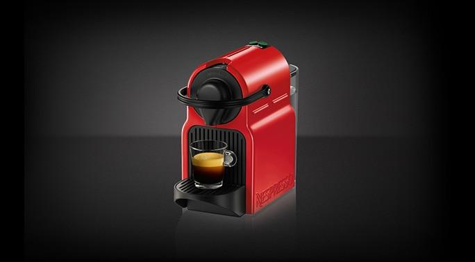 nespresso inissia rouge