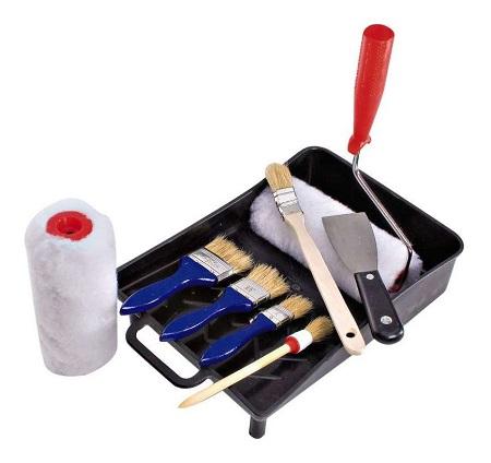outils de peinture