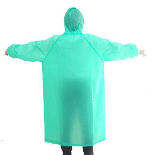 poncho pluie transparent