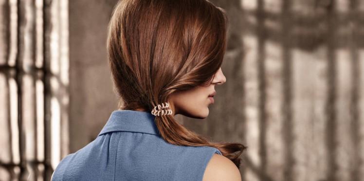 elastique cheveux ressort