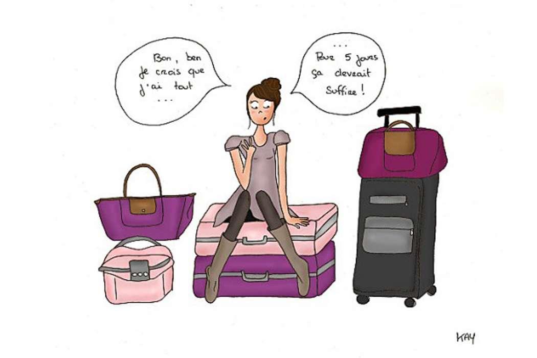 faire mes valises
