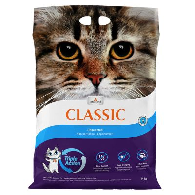 litière pour chat sans poussière