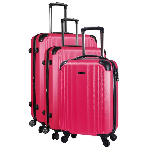 lot de 3 valises rigides
