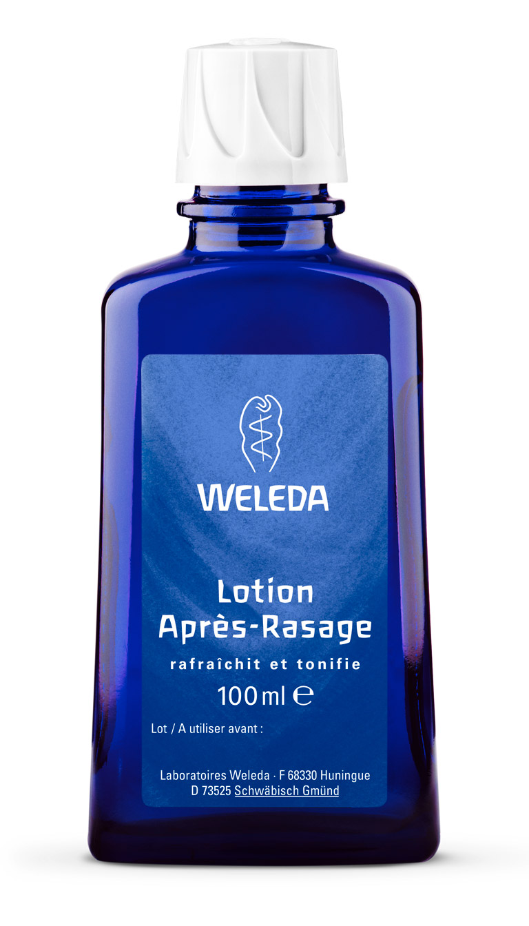 lotion après rasage