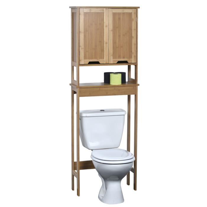 meuble dessus wc
