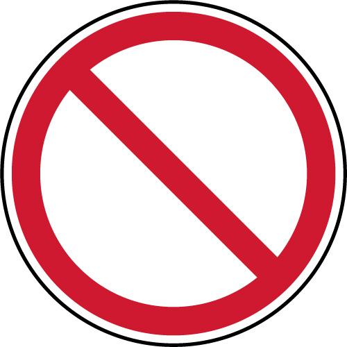 panneau d interdiction