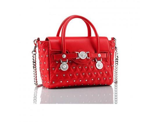 sac versace rouge