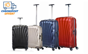 soldes valises samsonite polycarbonate