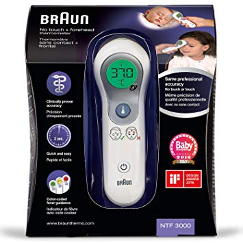 thermometre braun sans contact