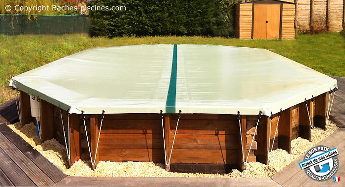 bache piscine hors sol