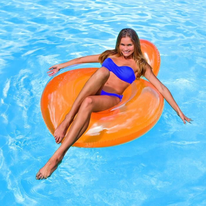 fauteuil gonflable piscine