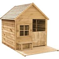 maison jardin enfant bois